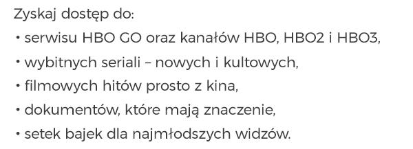 Zamów pakiet HBO HD HBO HD